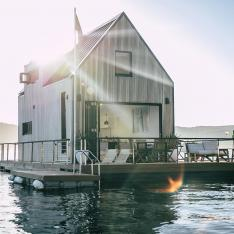 Forget the Forest, This Floating Cabin Is Going to Top Your Birthday Wish List