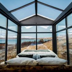 A Glass Cabin in Iceland Is the Perfect Summer Getaway