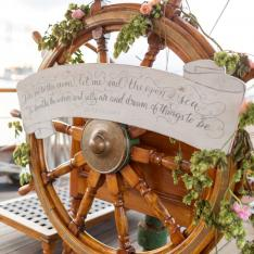 There's Romance in the Air on Tall Ship Elissa