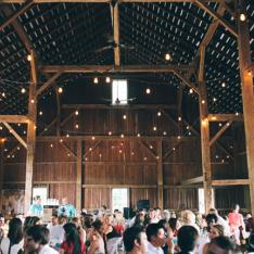 Hidden Vineyard Wedding Barn : Berrien Springs, Michigan