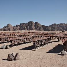 There Is A Deserted Theatre in The Desert