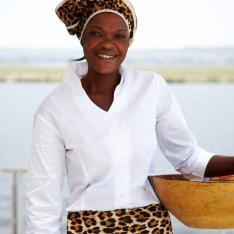 A luxury African river safari : Chobe River, Namibia, Africa