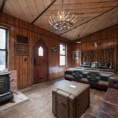 Gather at this Williamsburg B & B. Adirondack Cowboy Sensibility included.
