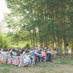 An Organically Farmed Love Story Wedding