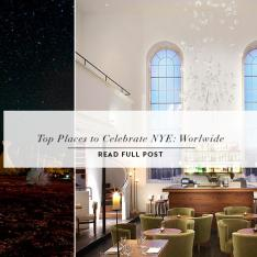 TOP PLACES TO CELEBRATE NYE WORLDWIDE