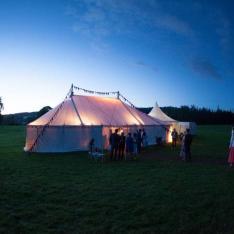 Glamorous Camping in True Irish Fashion