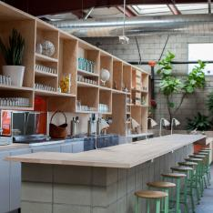 Spring Up For Healthy Fare At This Holistic Watering Hole