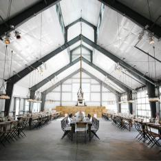 Industrial Barn Bash at Durham Ranch