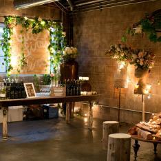 Tassels and Tastemakers : Industrial Garden Gathering