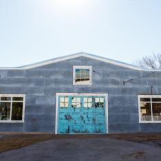 Romance + Restoration at this former Blacksmith Shop