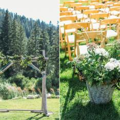 A Bluegrass Bash at a Rustic Ranch