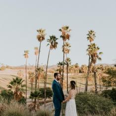 This Scenic Wedding Took Place at the San Diego Zoo Safari Park