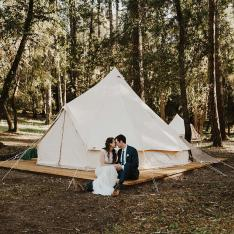 An Earthy, Natural Wedding in the California Redwoods