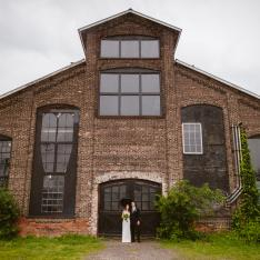 An Industrial Wedding In A Restored Factory Venue