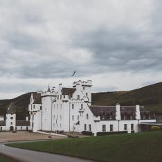 Modern Wedding Romance Set in Old Scottish Highland Church Ruins