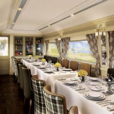 Birthday Bucket List of the Week: Glamour & Intrigue Aboard A High-Speed Gathering Space