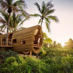 Birthday Bucket List: Girls Getaway at Brand New Tree House on the Beach in Mexico
