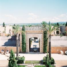 A Blush Pink Waterfront Wedding At Cap Rocat In Spain