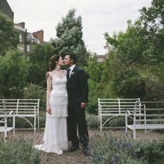 Romantic Wedding In A Secret Garden