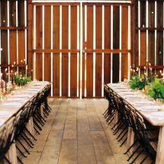 A Candlelit Barn Workshop And Dinner Party