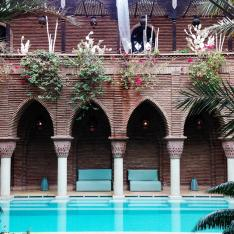 Getaway to the rooftop of riad, La Sultana Marrakech