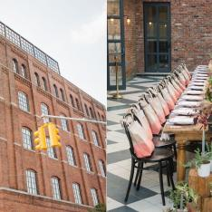 An Urban Garden Gathering at Brooklyn Venue Wythe Hotel