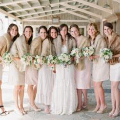 A Winter Wonderland Wedding At Pippin Hill Farms