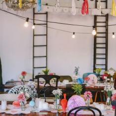 A  Colorful Confetti-Filled Wedding At Studio Neon