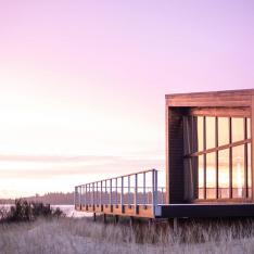 Considering a  Coastal Getaway for Your Birthday? Here's a Modern Cabin You'll Love