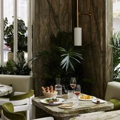 A Garden Focused Restaurant Opens in the Heart of Manhattan's Midtown East