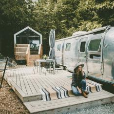 You're Going to Want to Book This British Columbia Glampsite for Your Next Birthday Celebration