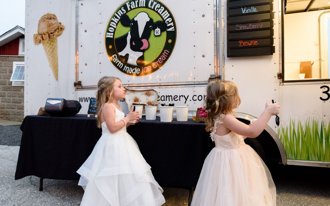 Complimentary Ice Cream Service for Your Event at The Covered Bridge Inn
