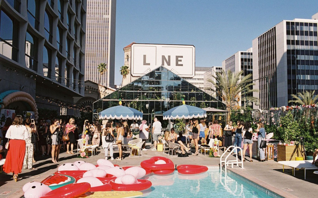 Valentine's Day Special at Openaire LA at The Line Hotel