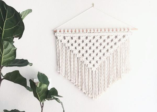 Macrame Wall Hanging Workshop With Reform Fibers, September 30th