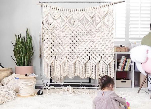 Macrame Wall Hanging Workshop With Reform Fibers, January 20th, 1-5PM