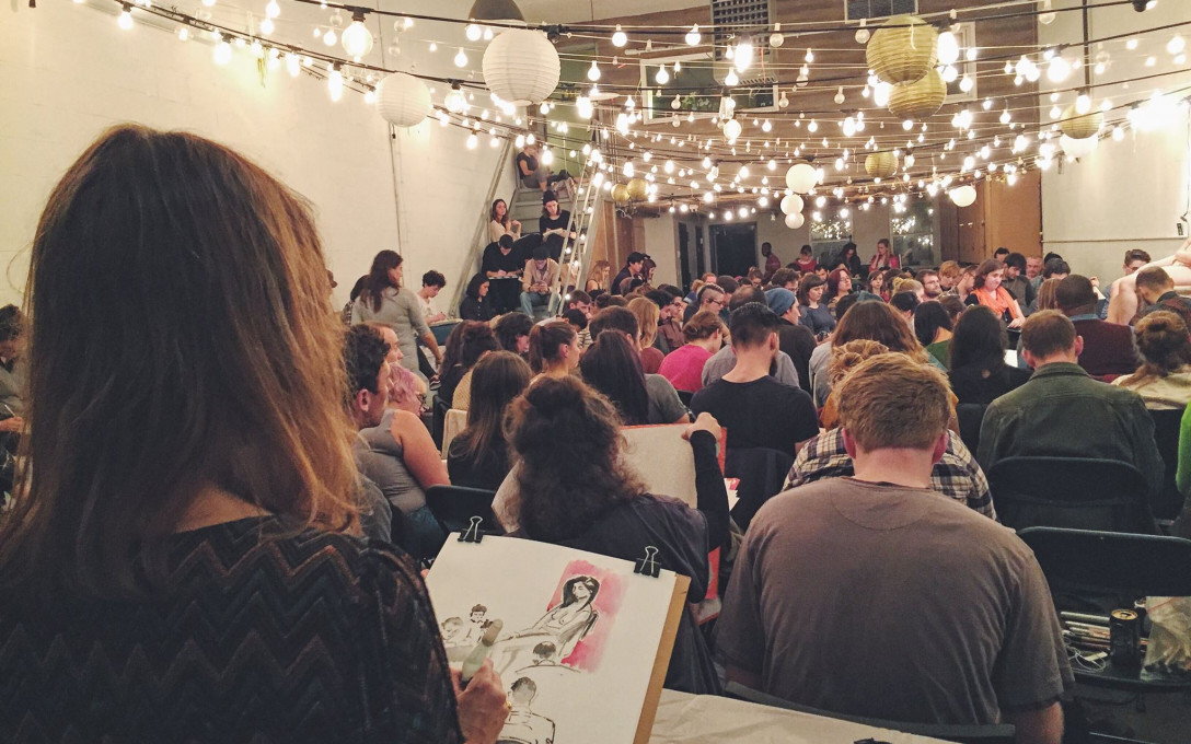 Drink N' Draw Every Wednesday!