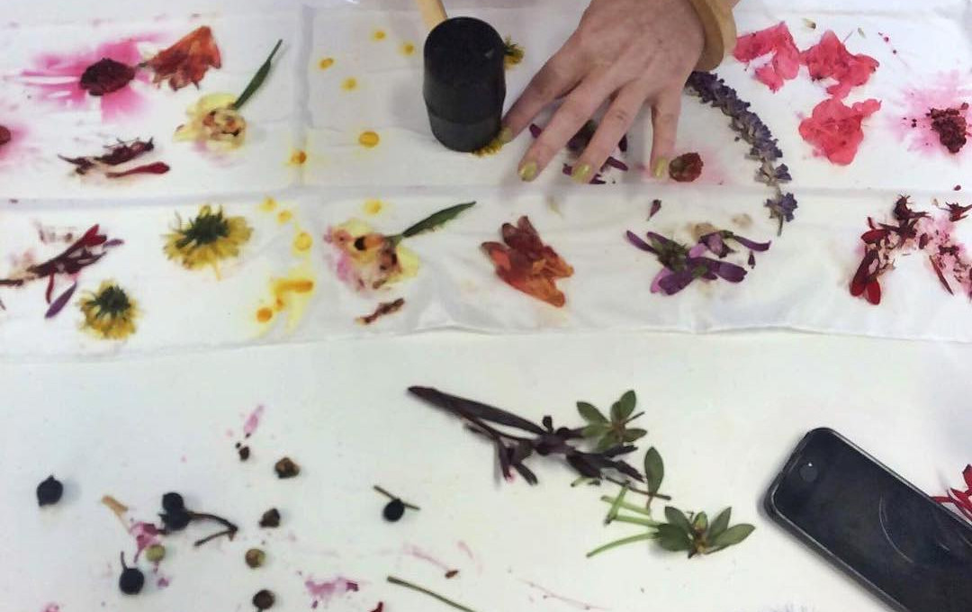 Forage, Flower and Fold Natural Dyeing Workshop, October 28th