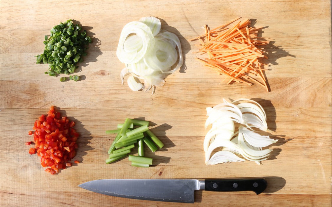 Knife Skills   Culinary Confidence Series, May 1st, $130