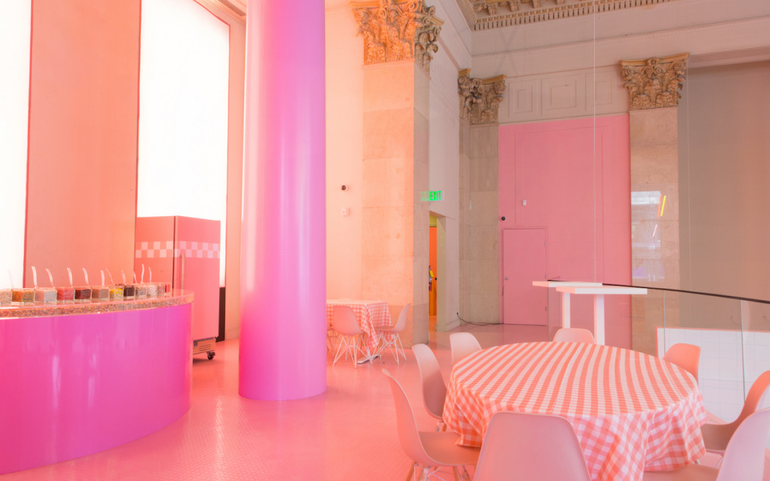 Have a Pink Party at Museum of Ice Cream