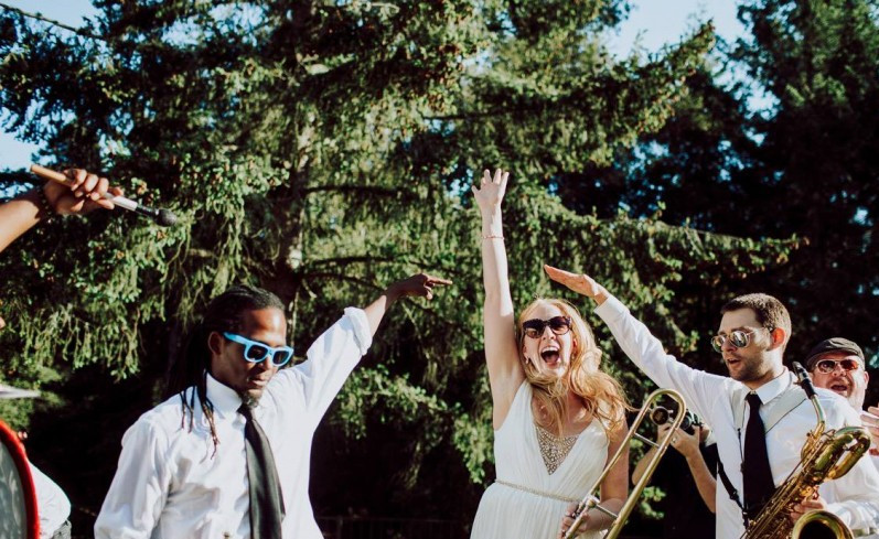Magical Redwood Wedding