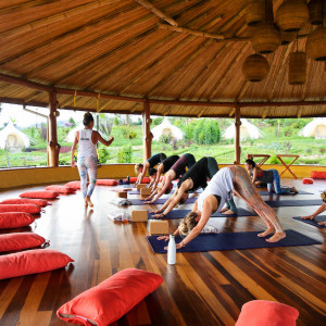 A Yoga Adventure with Caitlyn Casson at Kinkara