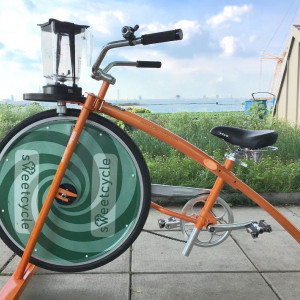 Bicycle Powered Gelato Making Workshop, July 10th, $75