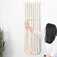 Macrame Wall Hanging Workshop With Reform Fibers, February 17th, 1-5PM