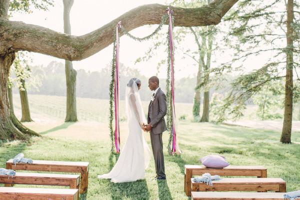 Hidden Vineyard Wedding Barn