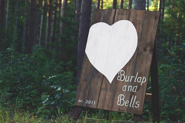 Burlap and Bells
