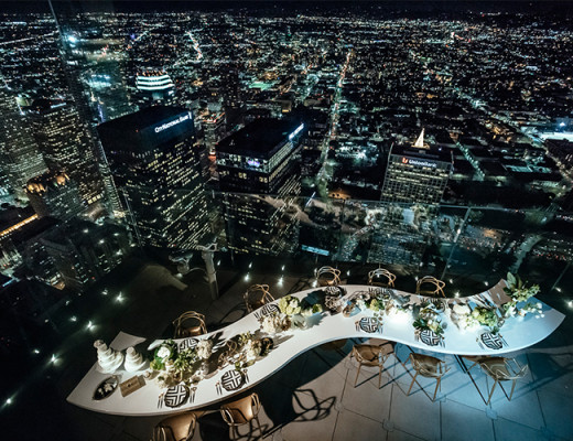 Oue Skyspace La Downtown Los Angeles California United States