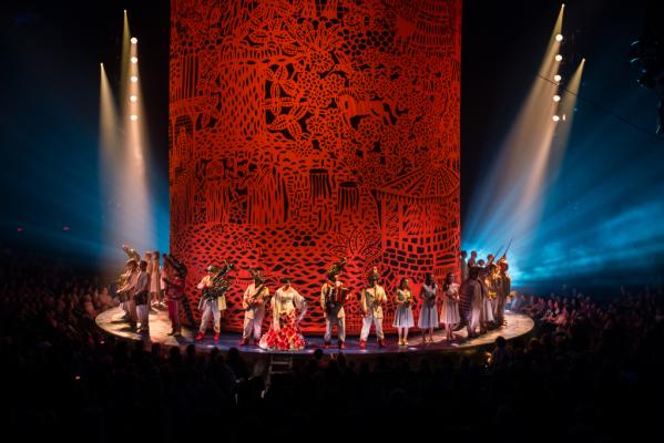 Cirque du Soleil Luzia –Houston