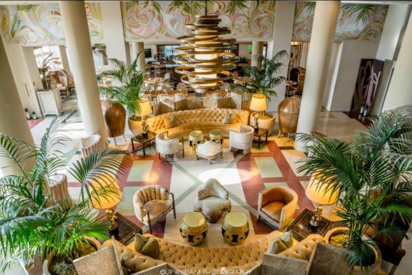 Le piu belle lobby di hotel a miami beach ero lucy for Piani unici aperti