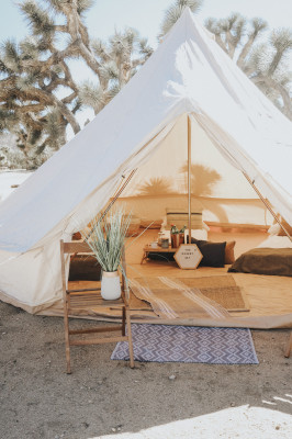 Bad Moon Glamping + Event Tents