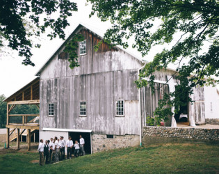 Hidden Vineyard Wedding Barn